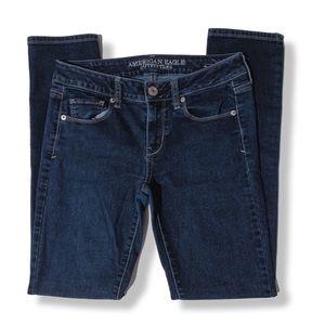 American Eagle • Dark Wash Blue Skinny Jeans